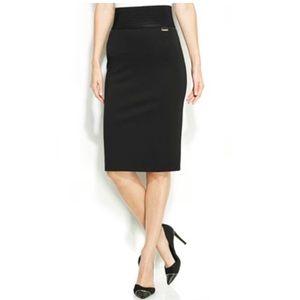 Calvin Klein Power Stretch Black Skirt size 2X